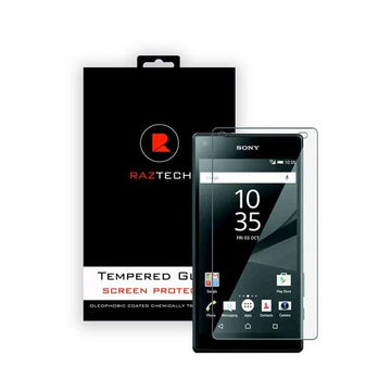 Tempered Glass Screen Protector for Sony Xperia Z5 - by Raz Tech