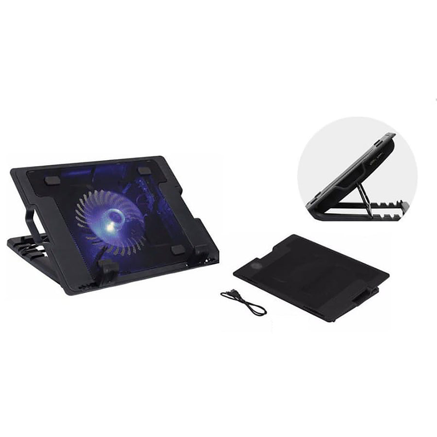 Notebook Laptop Cooling Fan & Stand 12 –17 inch N88