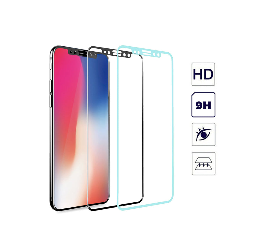 Tempered Glass Screen Protector for Apple iPhone X - by Raz Tech