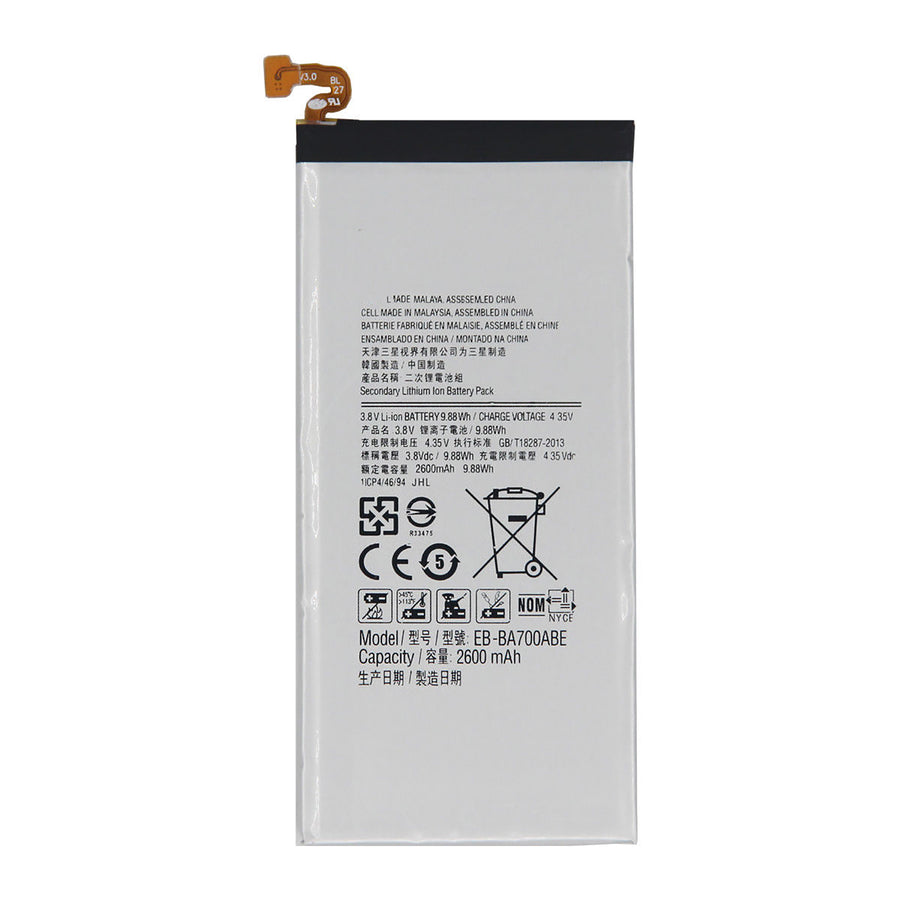 Samsung Galaxy A7 A700 EB-BA700ABE Generic Replacement Battery