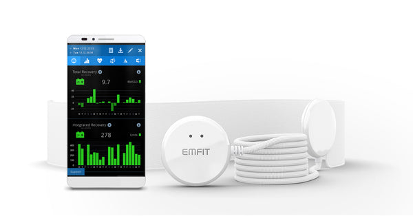 Emfit QS+Active, sleep tracker and monitor with heart-rate-variability