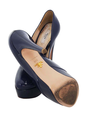 Prada Navy Pump
