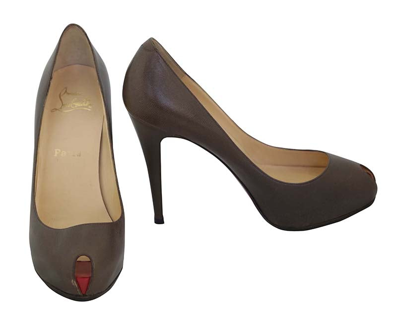 Christian Louboutin Dark Taupe Pump