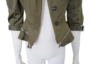 Alexander McQueen Army Green Jacket