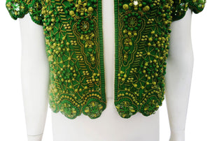 Escada Beaded Jacket