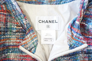 CHANEL THIN QUILTED JACKET