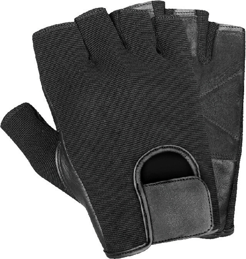 Mighty Grip Weightlifting and CrossFit Fingerless Leather Glove