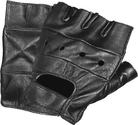 Mega Lift Weightlifting and CrossFit Fingerless Leather Glove