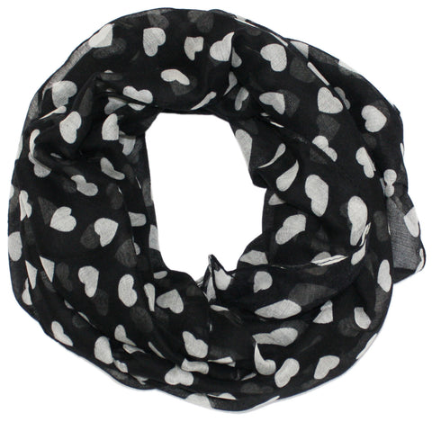 Heart Filled Infinity Scarf