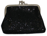 Fun Night Out Sparkle and Shine Gold Coin Purse