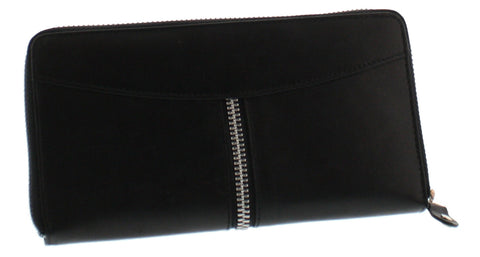 Zippered Leather Clutch and Wallet