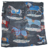 Proud Stallion Lightweight Rayon Scarf