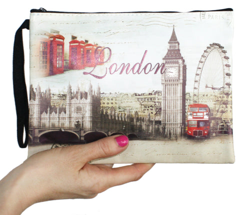 Lively International Themed Clutch