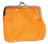Bright Neon Jelly Coin Purse