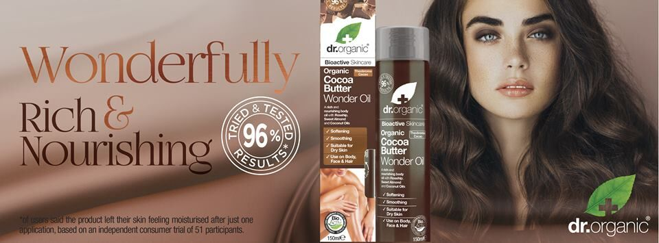 NEW Dr Organic Cocoa Butter Range | Become a Healthier You at The Holistic Shop
