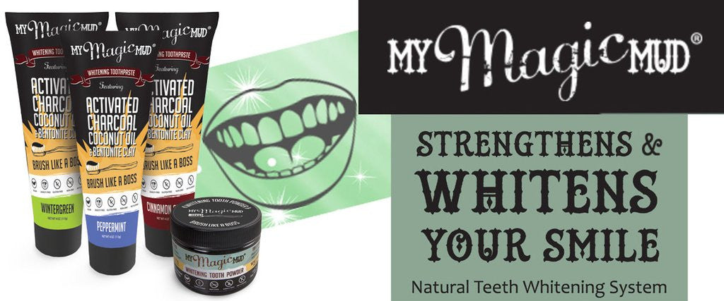 My Magic Mud with Activated Charoal tooth whitening system