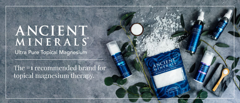 Ancient Minerals Topical Magnesium Products - The Holistic Shop in Wagga Wagga - afterPay and zip available online and in-store