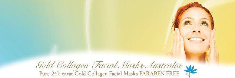 Jamela 24k Gold Collagen Facial Mask