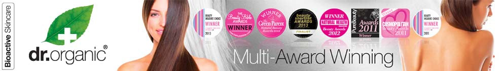Dr Organic Multi Award Winning Hair, Body, Skin, Oral and Personal Care Products
