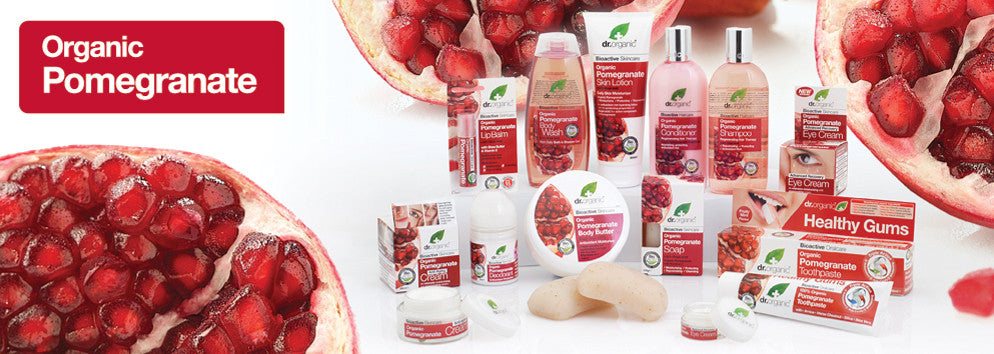 Dr Organic Pomegranate Hair, Body, Skin and Personal Care in Australia | Become a Healthier You - The Holistic Shop