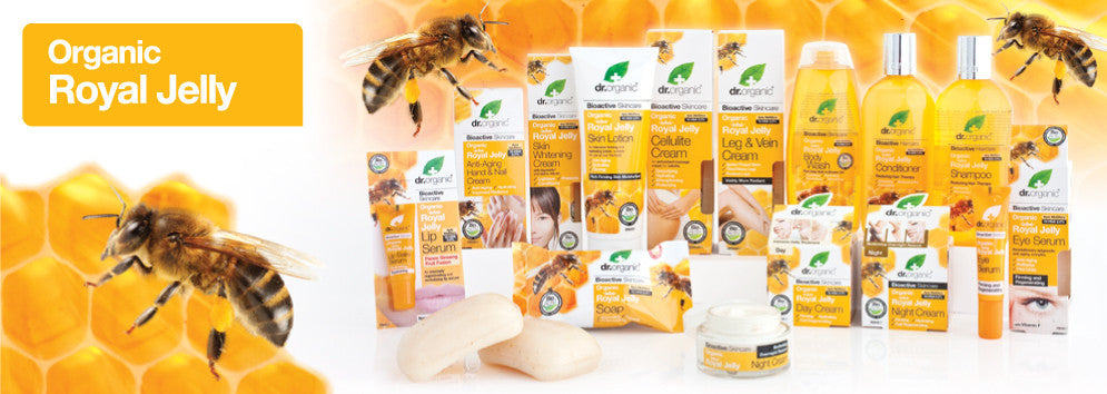 Dr Organic Royal Jelly Hair, Body, Skin and Personal Care in Australia | Become a Healthier You - The Holistic Shop Wagga Wagga