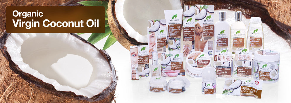 Dr Organic Virgin Coconut Oil Hair, Body, Skin and Personal Care in Australia  | Become a Healthier You - The Holistic Shop