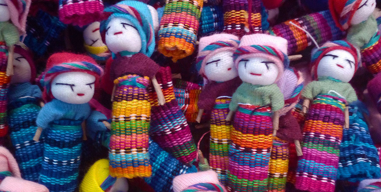 Guatemalan Worry Dolls | The Holistic Shop in Wagga Wagga