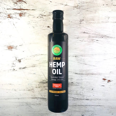 Hemp Seed Oil 500ml