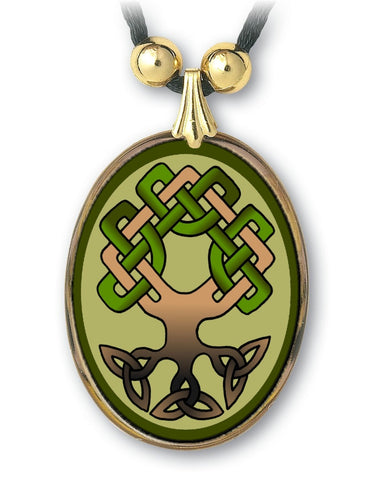 Celtic Tree of Life Pendant and Earrings