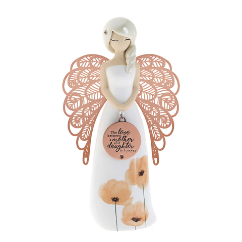You are an Angel Figurine 155mm - MOTHER and DAUGHTER - Mother's Day Gift Idea