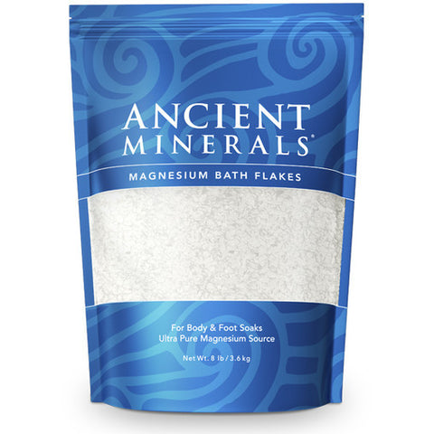 Ancient Minerals Magnesium Oil Bath Flakes - Genuine Zechstein - 3.6kg