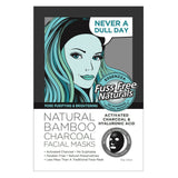 Bamboo Activated Charcoal and Hyaluronic Acid Facial Mask