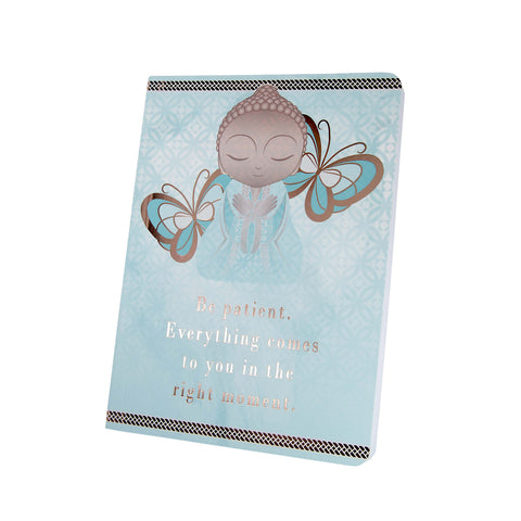 Little Buddha - Be Patient - Notebook - Gift Idea