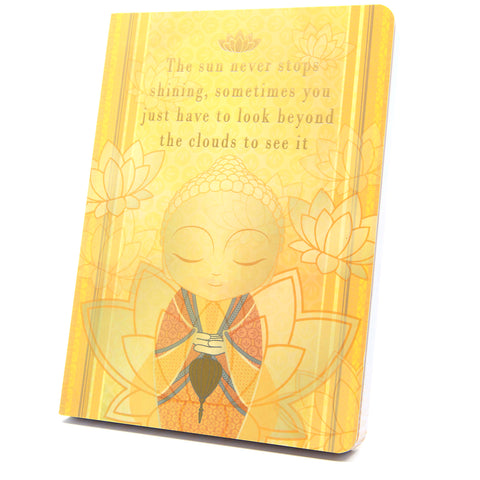Little Buddha - Beyond The Clouds - Notebook - Gift Idea