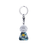 Little Buddha Figurine Keychain - Character Catches the Heart - Mother's Day Gift Idea
