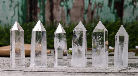Clear Crystal Quartz Generator Obelisk - Point- Wand - Master Healer - Crystal Healing - Gift Idea