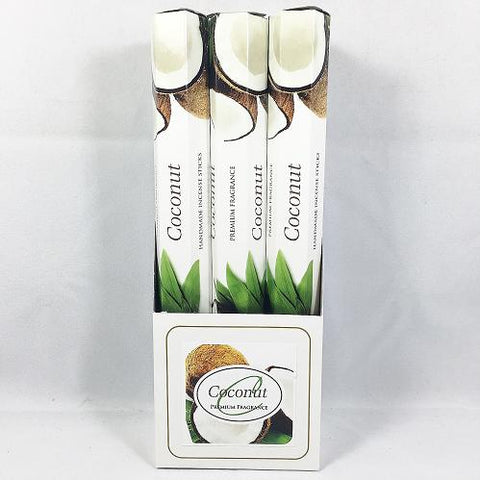 COCONUT Incense Sticks - Premium Fragrance - Handmade