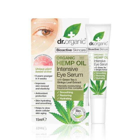 Dr Organic Hemp Oil Intensive Eye Serum 15ml