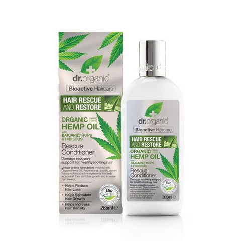 Dr Organic Hemp Oil Rescue and Restore Conditioner 265ml