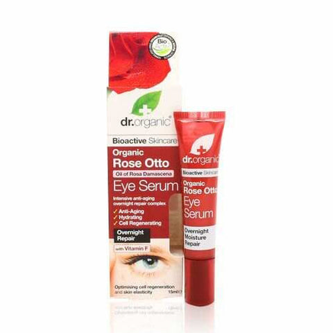 Dr Organic Rose Otto Eye Serum 15ml - May Special Offer