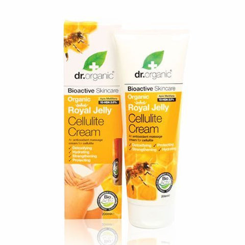 Dr Organic Royal Jelly Cellulite Cream 200ml