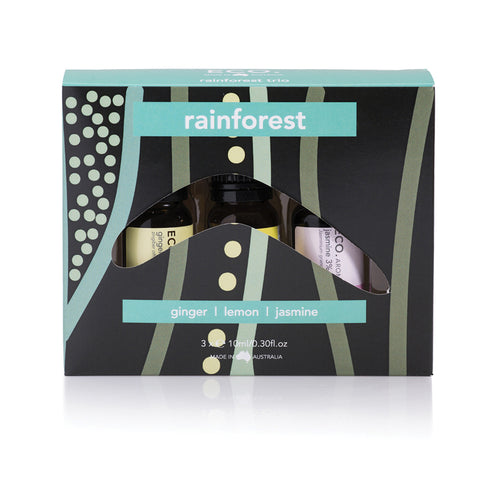Rainforest Essential Oil Gift Pack - 3 Pack - ECO Aroma