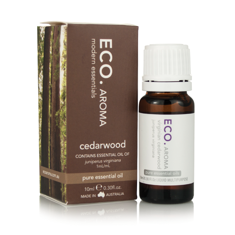 Cedarwood Essential Oil 10ml - ECO Aroma