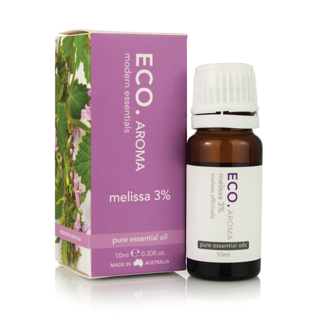 Melissa Essential Oil 3% 10ml - ECO Aroma