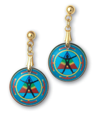 Energy Earrings - Handcrafted - each piece is unique