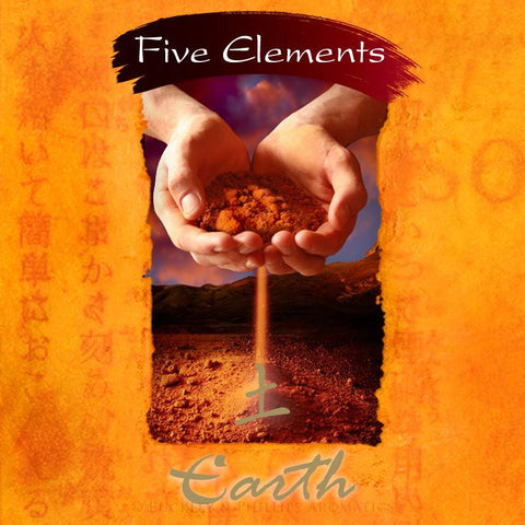 Earth Incense (Five Elements) | 37 Sticks plus ceramic holder