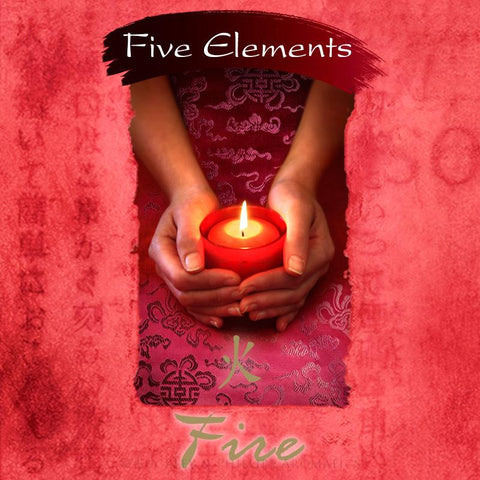 Fire Incense (Five Elements) | 37 Sticks plus ceramic holder