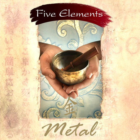 Metal Incense (Five Elements) | 37 Sticks plus ceramic holder