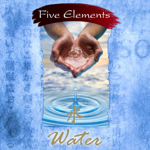 Water Incense (Five Elements) | 37 Sticks plus ceramic holder