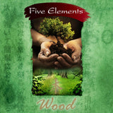 Wood Incense (Five Elements) | 37 Sticks plus ceramic holder
